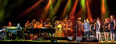 Stevie Wonder And Band Poster