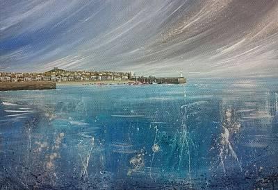 St.ives, Cornwall, Uk  Poster by Keran Sunaski Gilmore
