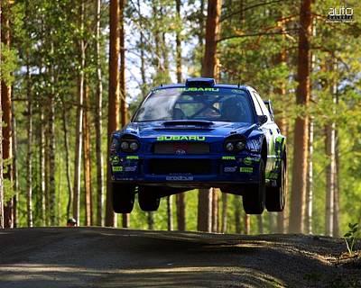 Subaru Impreza Wrc                    Poster
