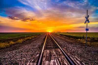 Sun Tracks Poster