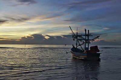 Sunrise On Koh Tao Island In Thailand Poster