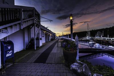 Sunset Roche Harbor Poster
