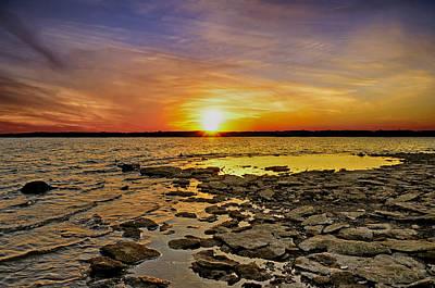 Sunset Poster by Steven  Michael