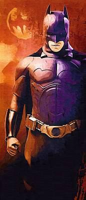 Superman And Batman Poster Poster by Egor Vysockiy