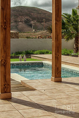 Swimming Pool With View Poster