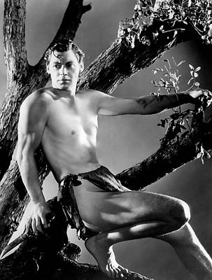 Tarzan, Johnny Weissmuller, 1932 Poster by Everett