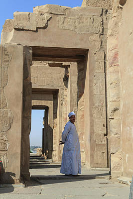 Poster featuring the photograph Temple Of Kom Ombo by Silvia Bruno