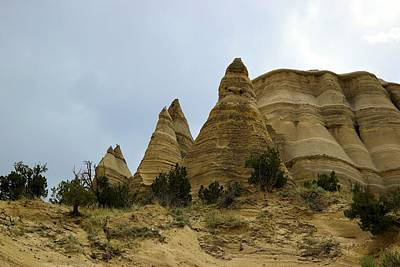 Tent Rocks Poster by Jeff Swan