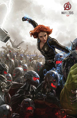 The Avengers Age Of Ultron 2015  Poster