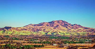 The Butte Poster by Robert Bales