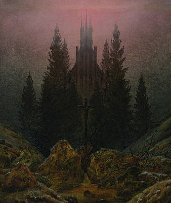 The Cross In The Mountains Poster