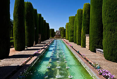The Gardens Of The Alcazar De Los Reyes Poster by Panoramic Images