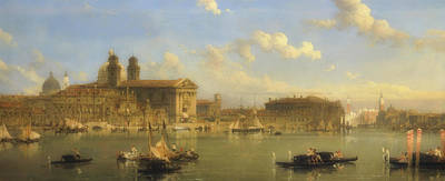 The Giudecca, Venice Poster by David Roberts