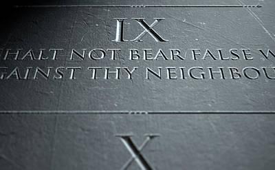 The Ninth Commandment Poster