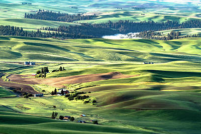 The Palouse Poster