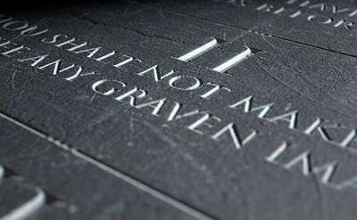 The Second Commandment Poster