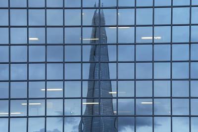 The Shard - London Poster by Joana Kruse