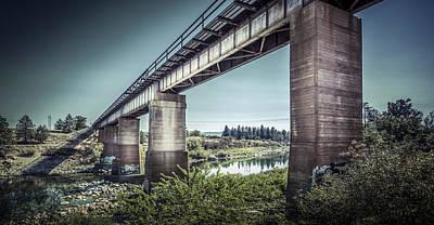 The Spokane River Centennial Trail Poster by Solomon Crowe
