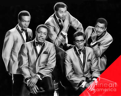 The Temptations Collection Poster by Marvin Blaine