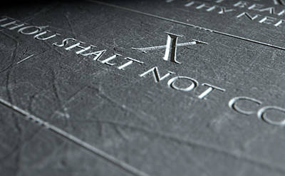 The Tenth Commandment Poster