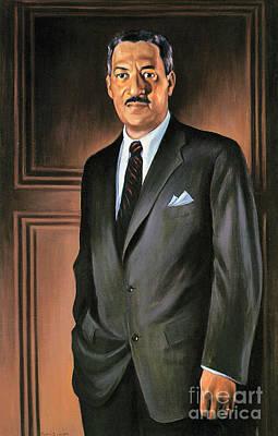 Thurgood Marshall Poster by Granger