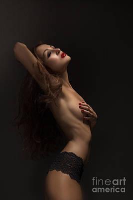 Topless Girl Poster