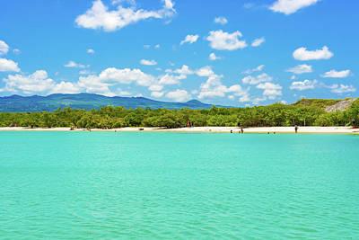 Tortuga Bay Beach At Santa Cruz Island In Galapagos  Poster
