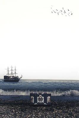 Treasure Chest Poster by Joana Kruse
