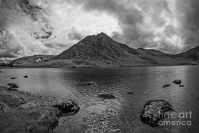 Tryfan Mountain Poster by Ian Mitchell