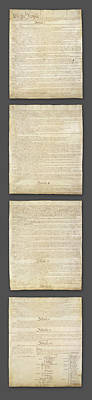 United States Constitution, Usa Poster by Panoramic Images