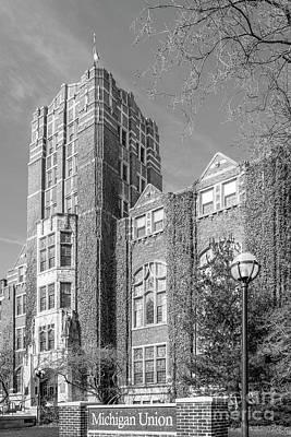 University Of Michigan Union Poster