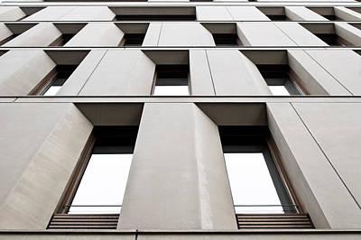 Urban Building   Poster by Tom Gowanlock