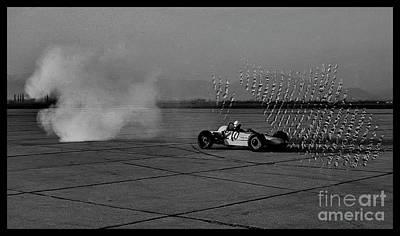 Vintage Racing Car European Gp Poster by Jim Kayalar
