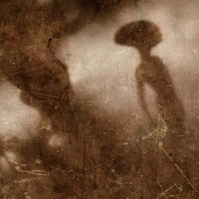 Vintage Style Ufo Alien By Raphael Terra Poster