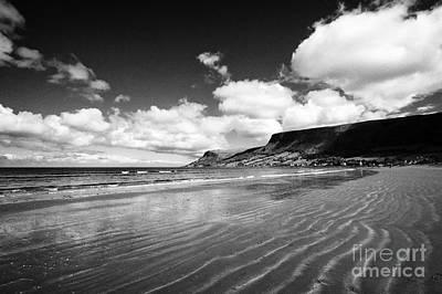 Waterfoot Glenariff Beach County Antrim Northern Ireland Uk Poster by Joe Fox