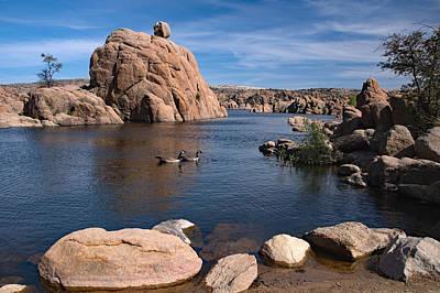 Watson Lake Park, Arizona, Usa Poster by Uwe Gernhoefer