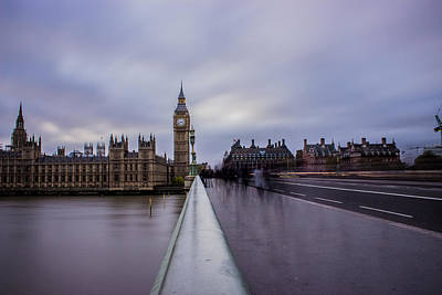 Westminster Bridge Poster by Martin Newman