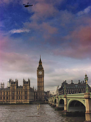 Westminster Poster by Martin Newman
