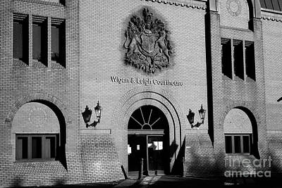 Wigan And Leigh Courthouse Magistrates County And Family Courts England United Kingdom Poster by Joe Fox