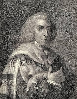 William Pitt The Elder 1st Earl Of Poster by Vintage Design Pics