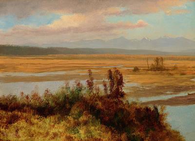 Wind River Country Poster by Albert Bierstadt