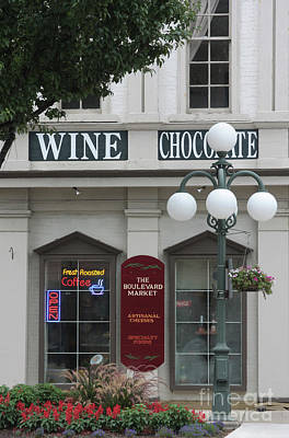Wine And Chocolate Poster