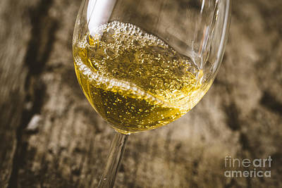 Wine Poster by Mythja Photography