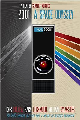 2001 A Space Odyssey Poster Print - No 9000 Computer Has Ever Made A Mistake Poster