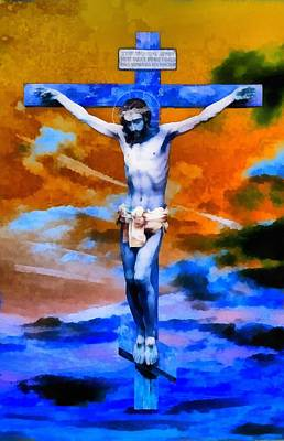 Jesus Christ - Religious Art Poster
