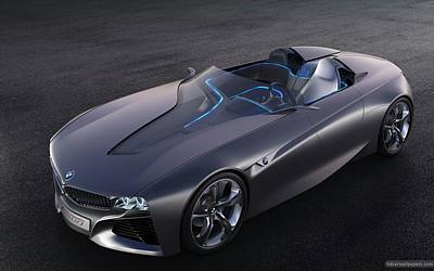 2011 Bmw Vision Connected Drive Concept 4 Wide Poster