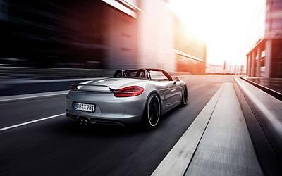 2012 Porsche Boxter By Techart 2  1 Poster by F S