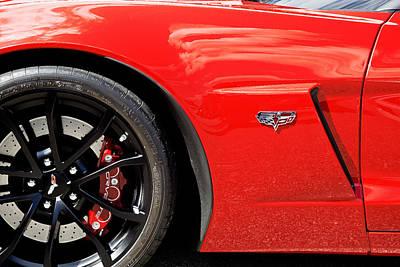 2013 Corvette Poster by Rich Franco
