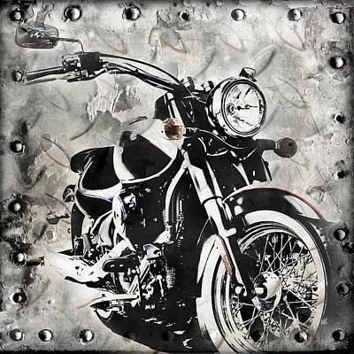 2013 Kawasaki Vulcan Poster by Melissa Smith