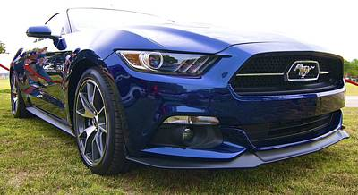2015 Ford Gt Mustang Poster